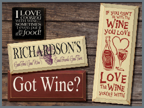 Wooden Signs With Wine Sayings And Quotes