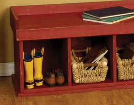Solid Pine Wood Benches