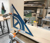 Use two Angle Accessories to transform your MTR-18 Precision Triangle into a massive clamping square.