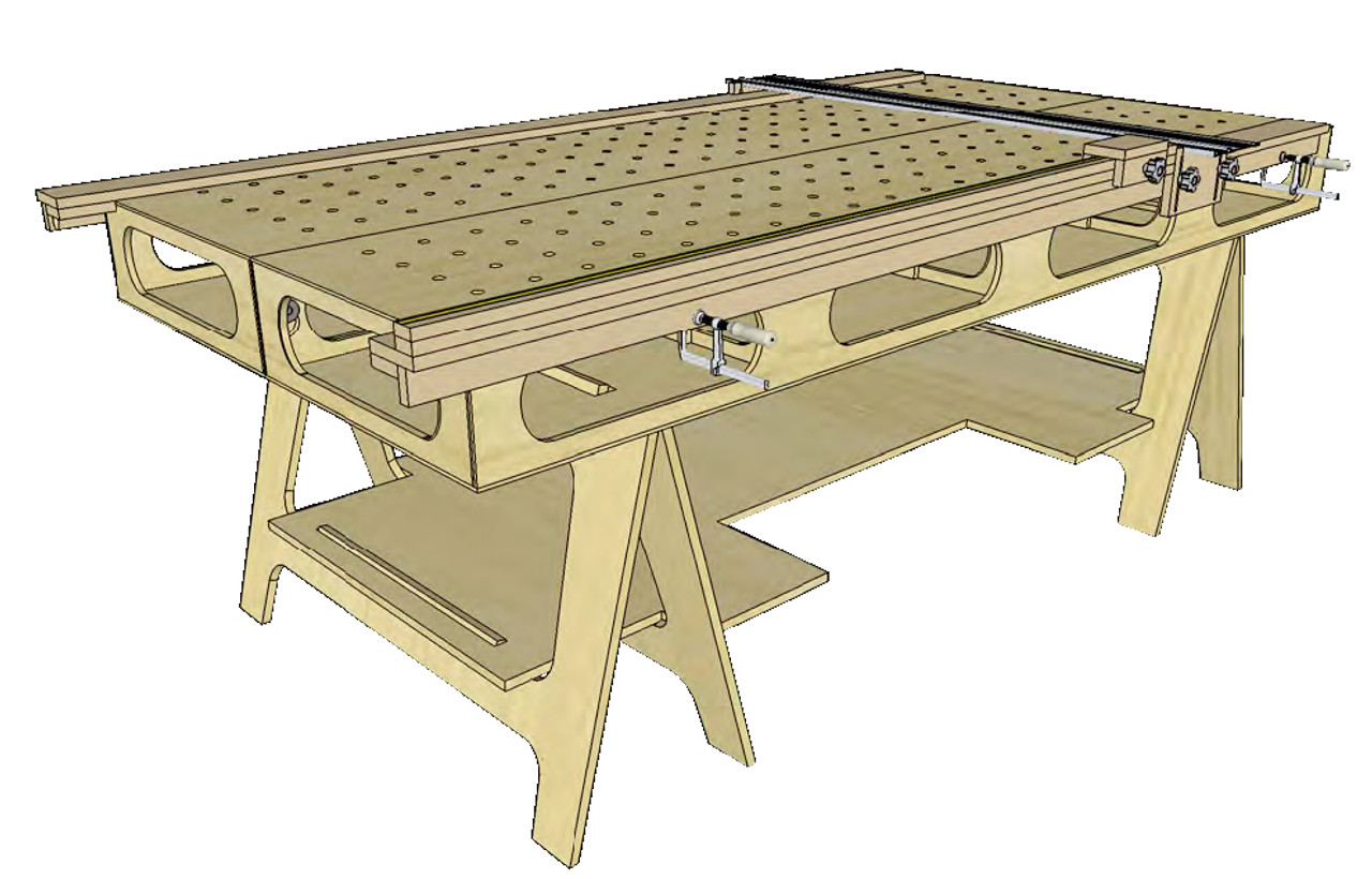 Paulk Crosscut Jig Plans