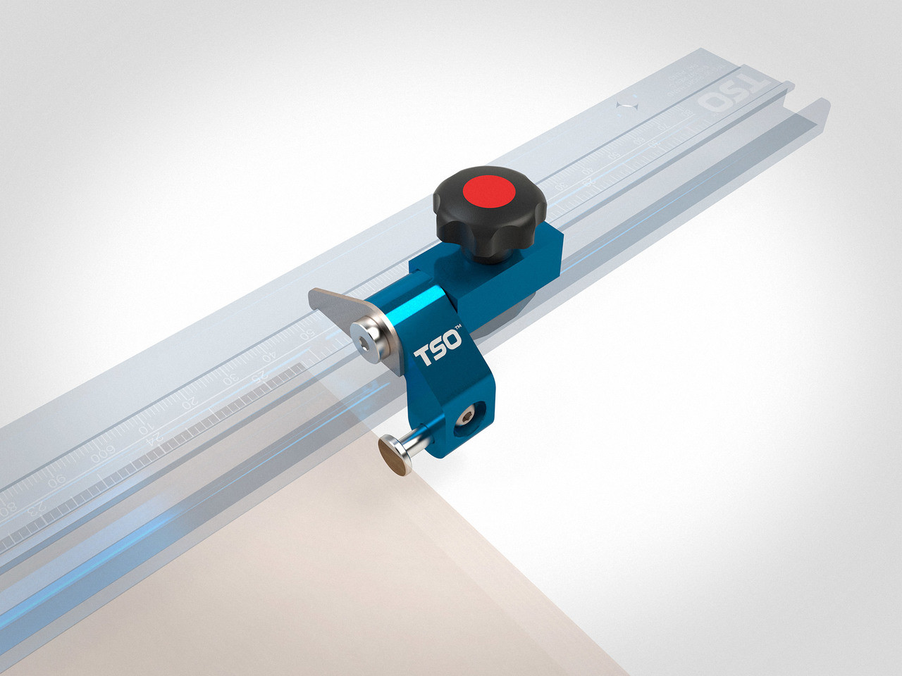 Additional Flip-Stop ST for TPG Parallel Guide System (Right Hand)