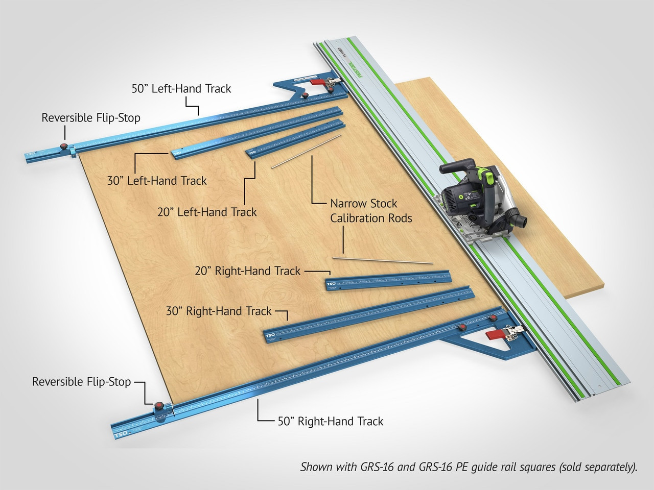 TPG-50 Complete Parallel Guide System