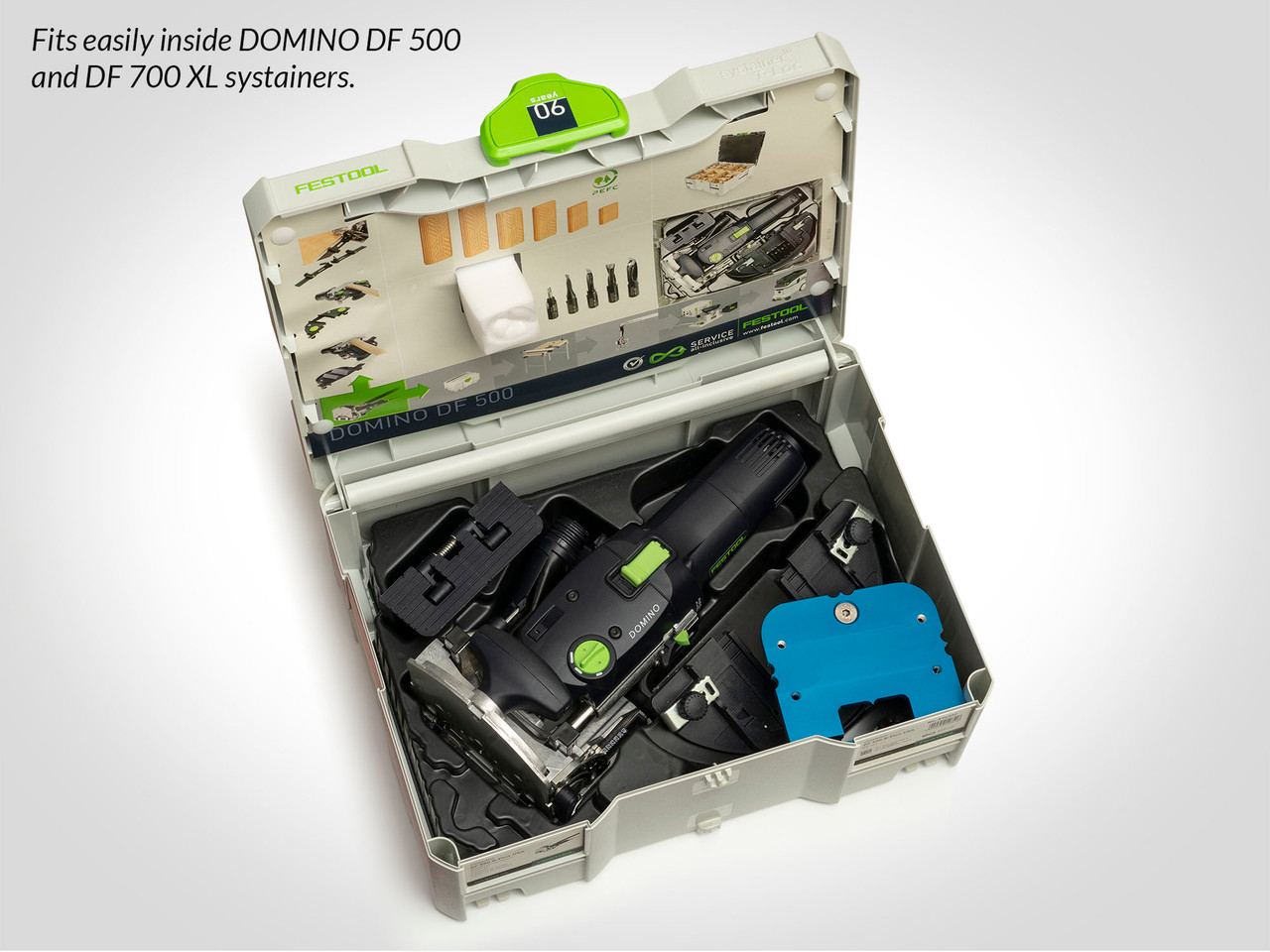 DBF-45 BigFoot v2.0 Base System for Festool Domino