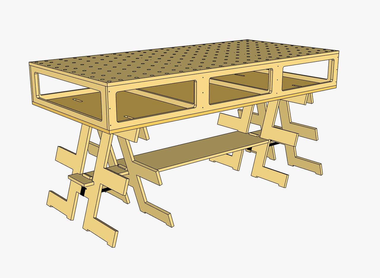 Paulk Smart Bench Plans