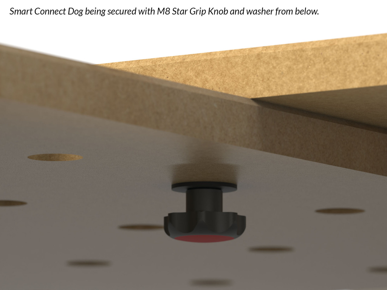 DoubleGroove™ 20mm Smart Connect Bench Dogs - Pair