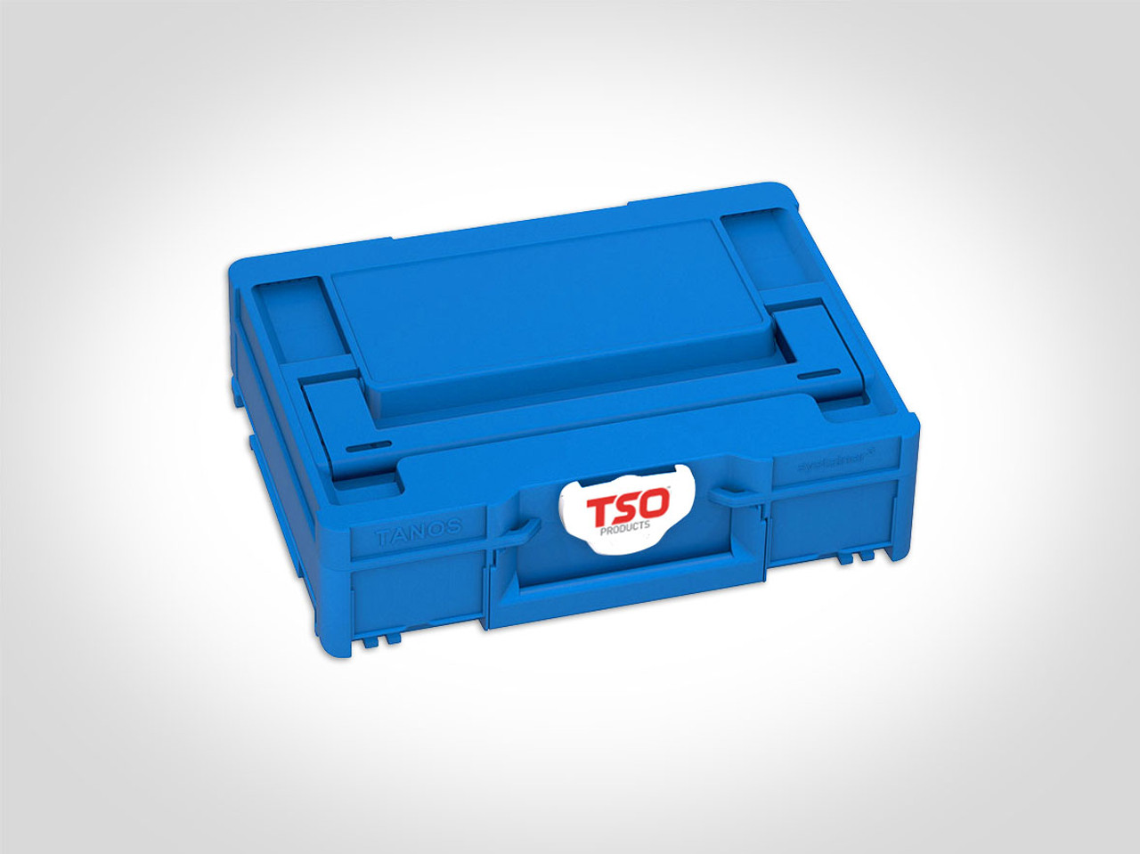 TSO's limited edition Systainer³ M 112 in stunning blue with TSO-branded latch. It will stand out in your shop!