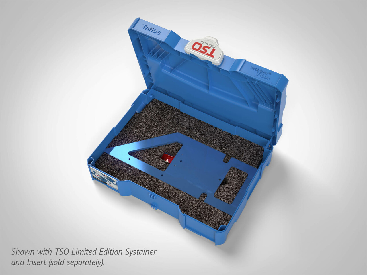 With our optional Dual FoamPac Insert, the GRS-16 fits in a SYS1 T-LOC Systainer!