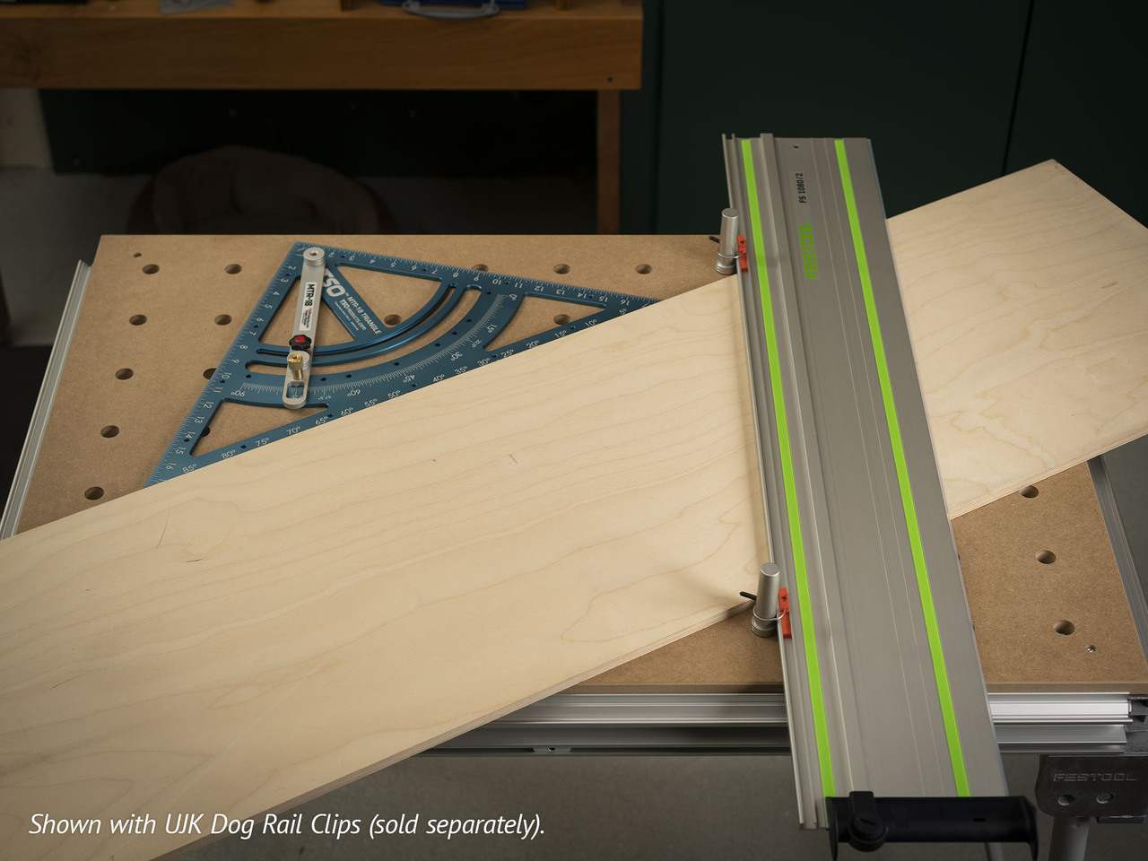 Cut large panels at odd angles with the MTR-18.