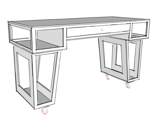 Paulk Standup Desk Plans