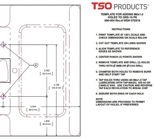 Plans Drawings Tso Products Llc