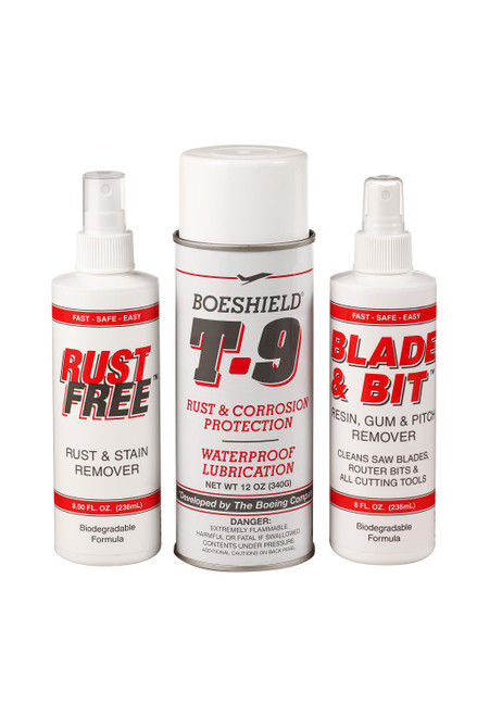 Boeshield Rust Protectant, Rust Remover & Blade/Bit Cleaner