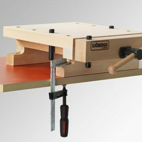 Sjobergs Smart Workstation Pro Vise Workbench Top with Accessories