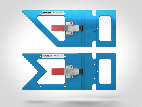 The GRS-16 and GRS-16 PE NextGen Guide Rail Squares are the easiest, fastest and most accurate way to square cuts with your track saw.