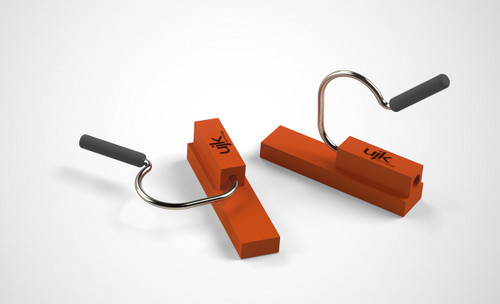 Presenting the fastest and easiest way to secure your guide rail to 20mm bench dogs: guide rail clips!