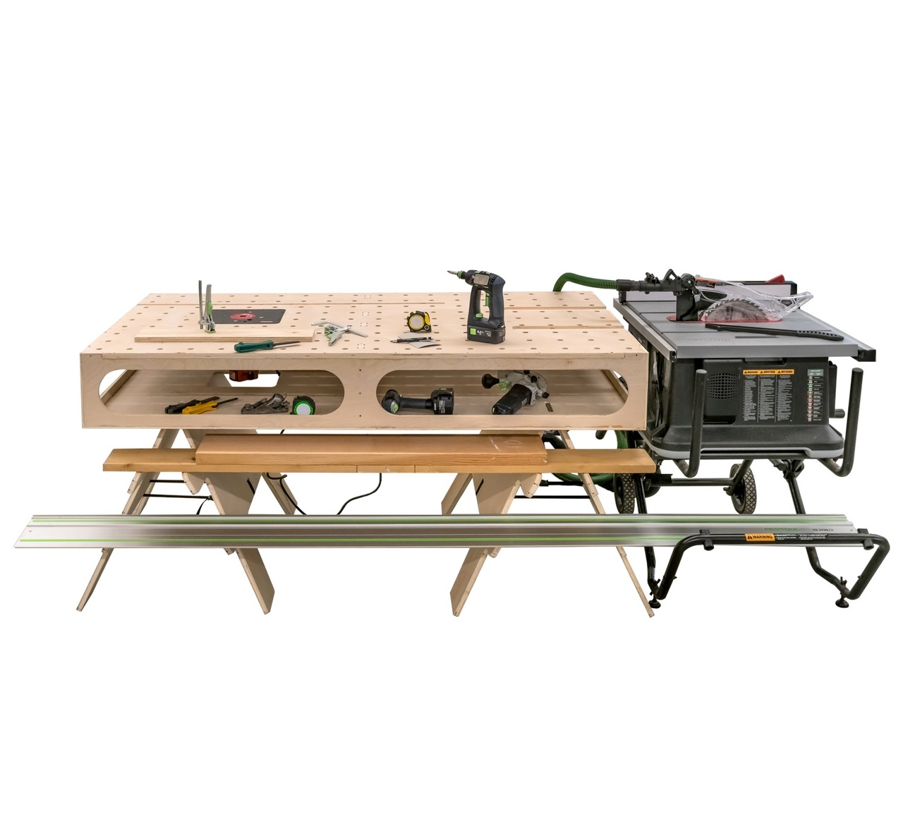 Paulk Workbench Plans An Innovative Do Everything Workbench Built