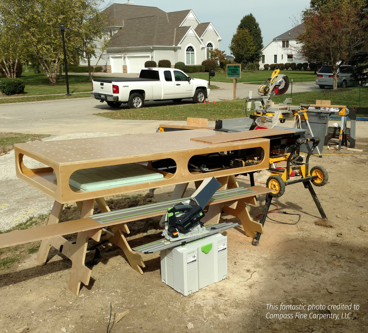 Paulk Compact Workbench Plans