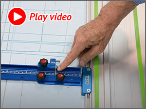Watch this video to see how fast the TPG parallel guides can be calibrated