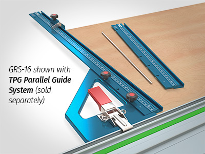 Connect your GRS-16 to the TSO Parallel Guide System