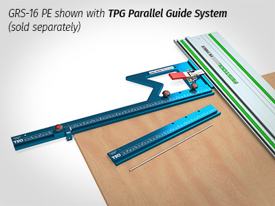 Connect your GRS-16 or GRS-16 PE to the TSO Parallel Guide System