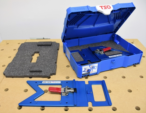 TSO Products Custom Systainer for GRS-16 Guide Rail Squares