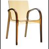 Deja Vu Arm Chair (Set of 4)