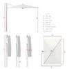 10' x 14' Cantilever Umbrella