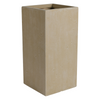 Strong Clay Tall Square Planter