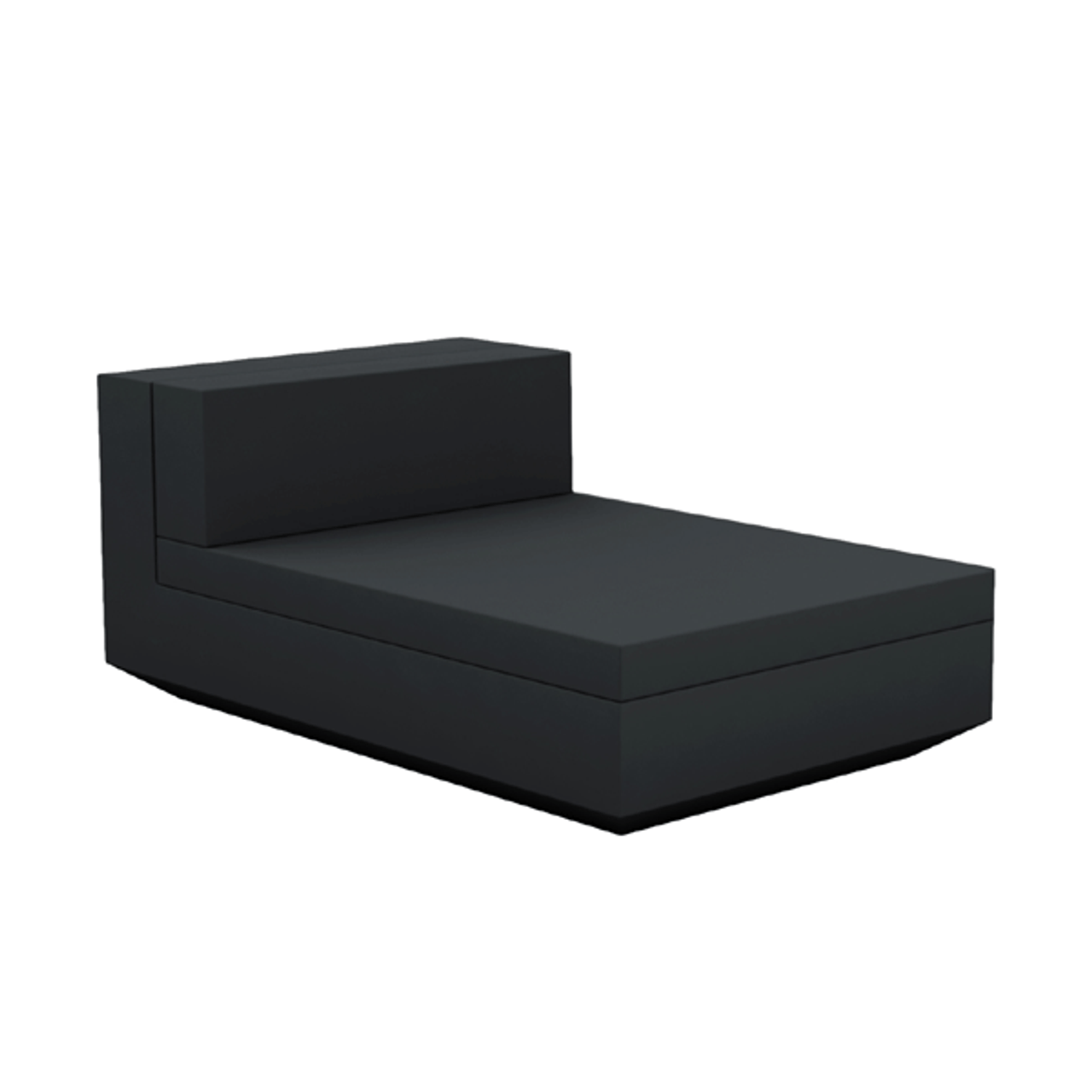 Pleasant Vela Sectional Sofa Armless Chaise Lounge Alphanode Cool Chair Designs And Ideas Alphanodeonline