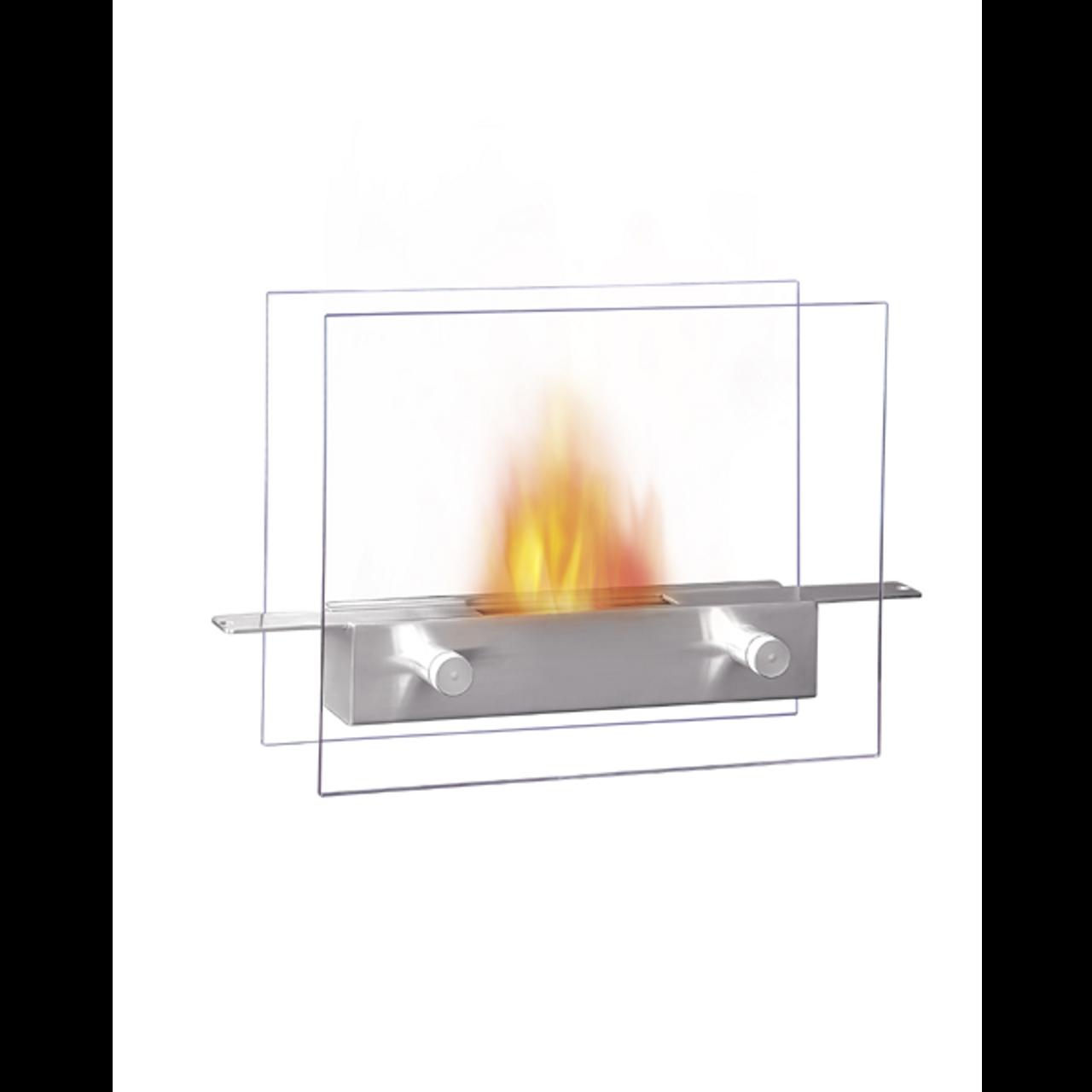 Metropolitan Modern Tabletop Fireplace Modern Indoor Furniture