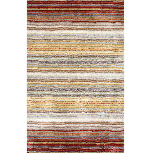 Classie Shag Indoor Rug - Red Multi