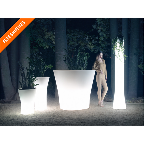 Bones Illuminated Planter