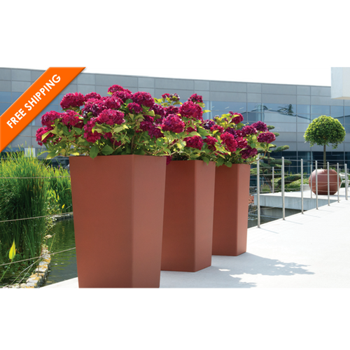 Tall Square Rise Planter