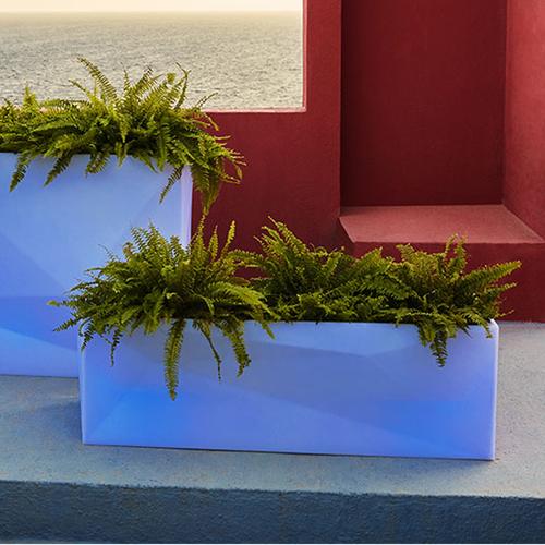Faz Illuminated Jardinera Planter