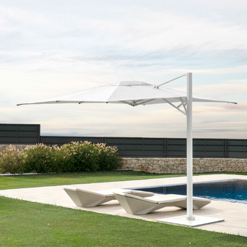DISCONTINUED - 10' x 14' Cantilever Umbrella