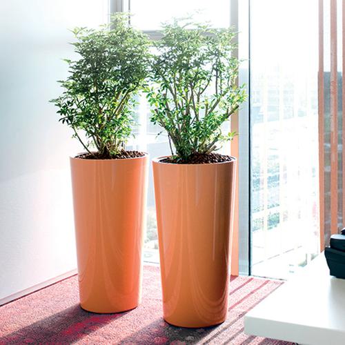 Tall Phoenix Vase Fiberglass Planter