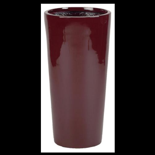 European Tall Cylinder Fiberglass Planter