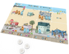 Build your own beachfront!  Include stores, condos, activities and more.