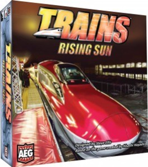 Trains Rising Sun