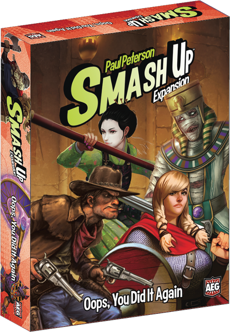 Smash Up Oops You Did It Again