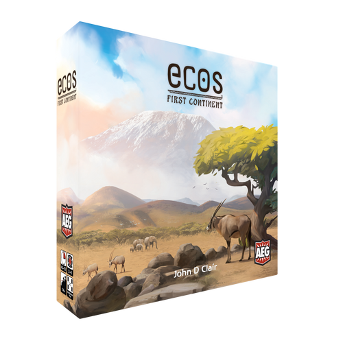 Ecos First Continent ENGLISH LANGUAGE for Essen 2019 Pickup