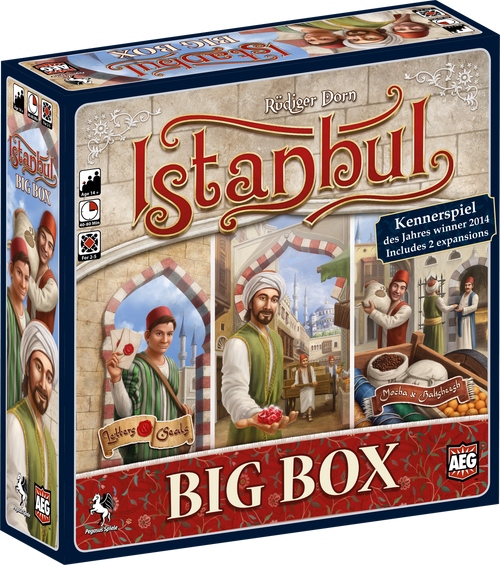 Istanbul Big Box (for Alpha Stores)