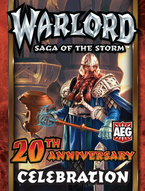 Warlord 20th Anniversary for Staff