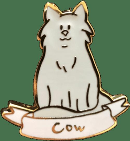 Cat Lady Collectors Pins - Cow