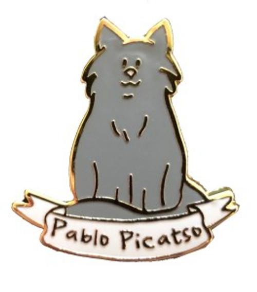 Cat Lady Collectors Pins - Pablo Picatso