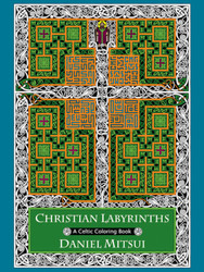 Christian Labyrinths (Booklet): A Celtic Coloring Book