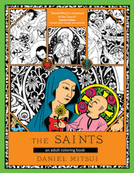 The Saints (Booklet): An Adult Coloring Book
