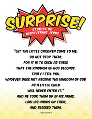 [Surprise! VBS] Bible Memory Poster (Poster)