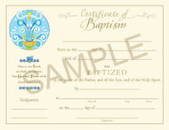 [Paraclete Sacramental Certificates] Certificate of Baptism (Pack of 25)