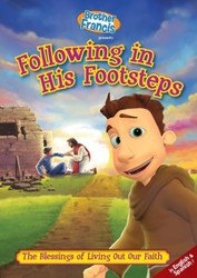 [Brother Francis DVDs] Following in His Footsteps (DVD): The Blessings of Living Out Our Faith