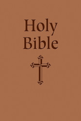 Gift Bible (Tan Imitation Leather): NABRE